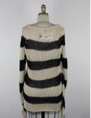 EVER roatan stripe womens sweater (S)