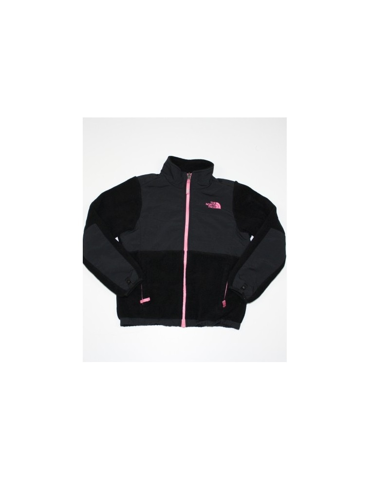 703a21cde14 ... best price the north face girls denali fleece jacket with pink trim 10  12 medium 01be4