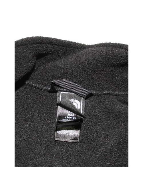 THE NORTH FACE girls Denali fleece jacket with pink trim (10/12) Medium