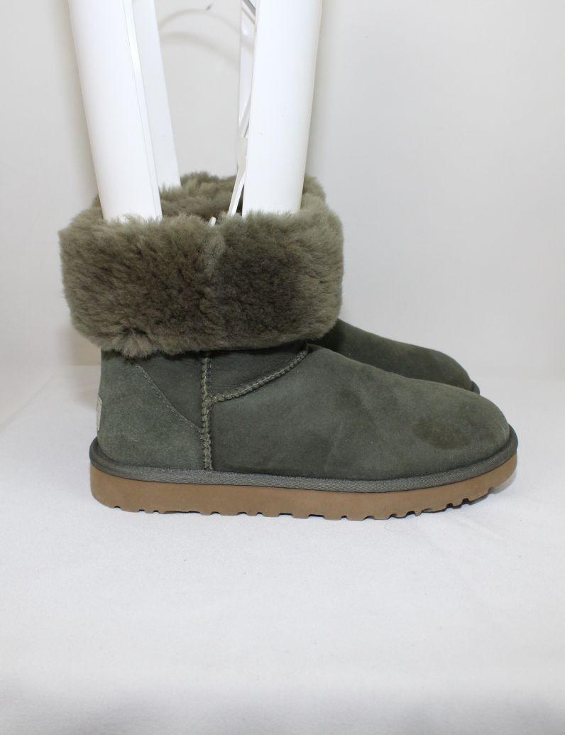 7736de1df70 UGG AUSTRALIA womens green Classic Short boots (7) 5825 - vintaya.com