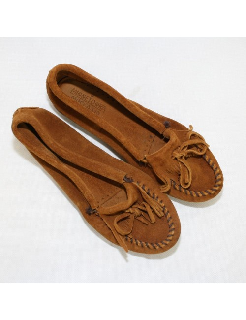 MINNETONKA MOCCASIN brown shoes