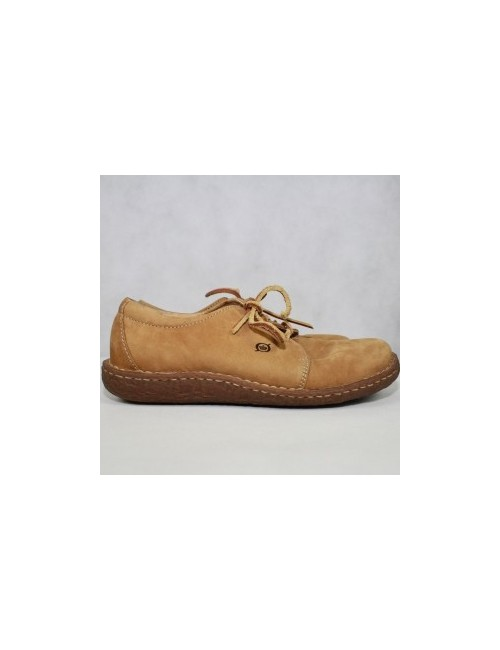 BORN womens leather lace up oxford shoes