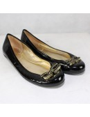 COACH Ashleen black flats!