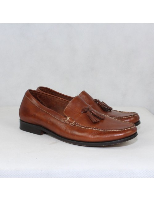 COLE HAAN brown genuine leather upper shoes