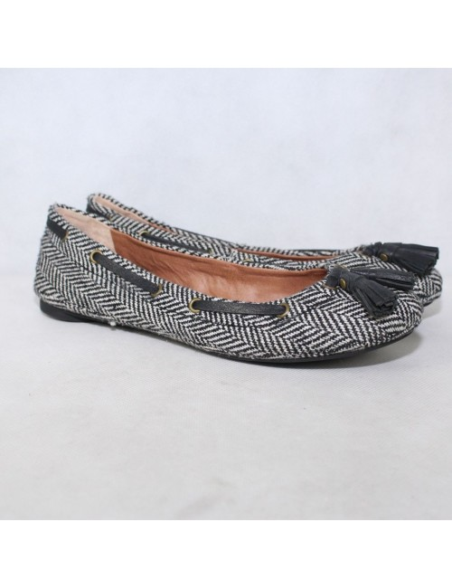 LUCKY BRAND Womens Edison Fabric Flats!