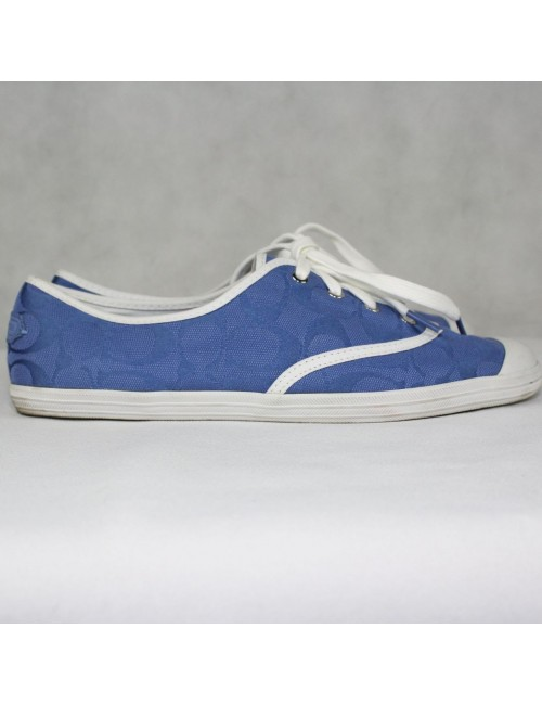 COACH Bellamy blue sneakers Size 9.5B