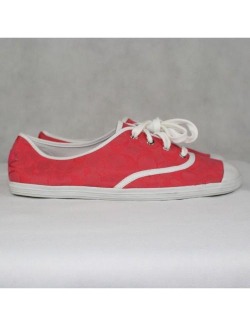 COACH Bellamy pink sneakers Size 9.5B