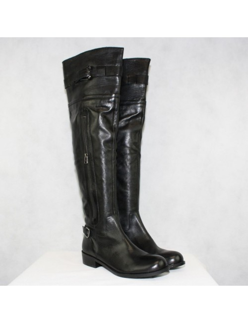 Steve by Steve Madden Sabra Leather Knee High Boots Size 9M