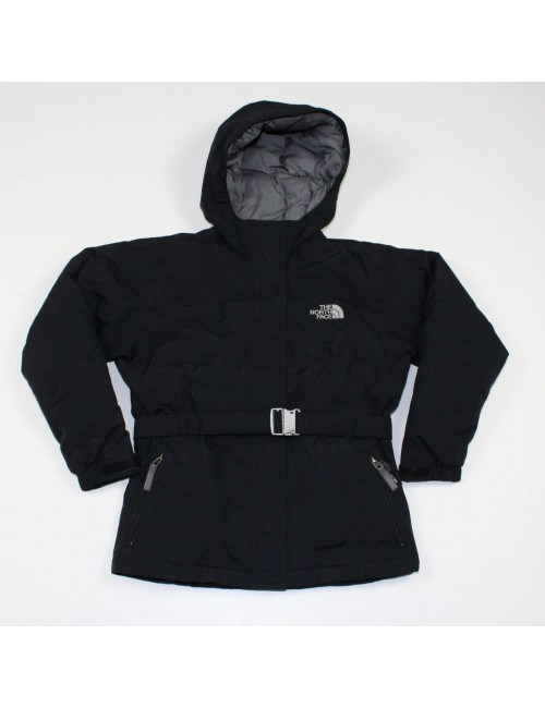 THE NORTH FACE Greenland girls black insulated winter jacket Size M