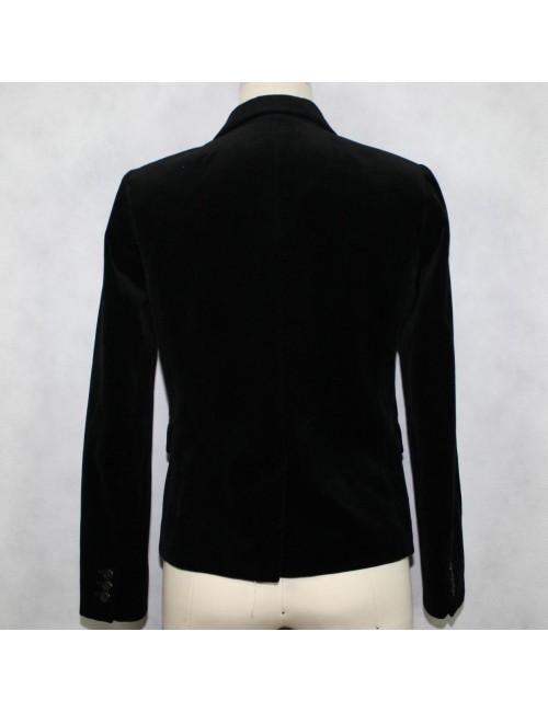J.CREW Schoolboy black velvet blazer Size 4