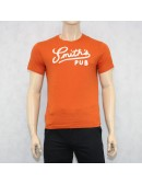 J.Crew Orange Cotton T-Shirt M