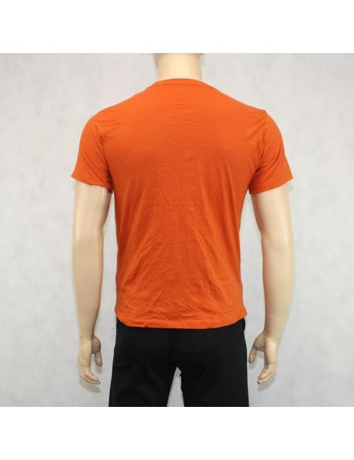 J.Crew Orange Cotton T-Shirt M