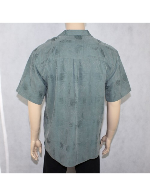 JOS. A. BANK mens green short sleeve vacation shirt $89 NWT! (L)!