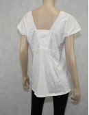 Michael Michael Kors White Cotton Top Size XL