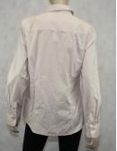 J.Crew White & Brown Dots Button Down Shirt Size L