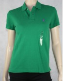 Ralph Lauren Green Classic Fit Polo Shirt Size S