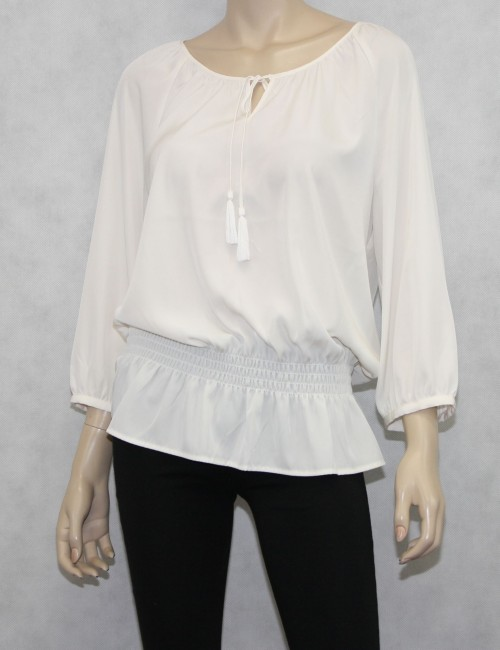 Chicos Soft Ease Kiva Top Size M New