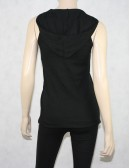 Lacoste Sleeveless Hood Top Size US 12