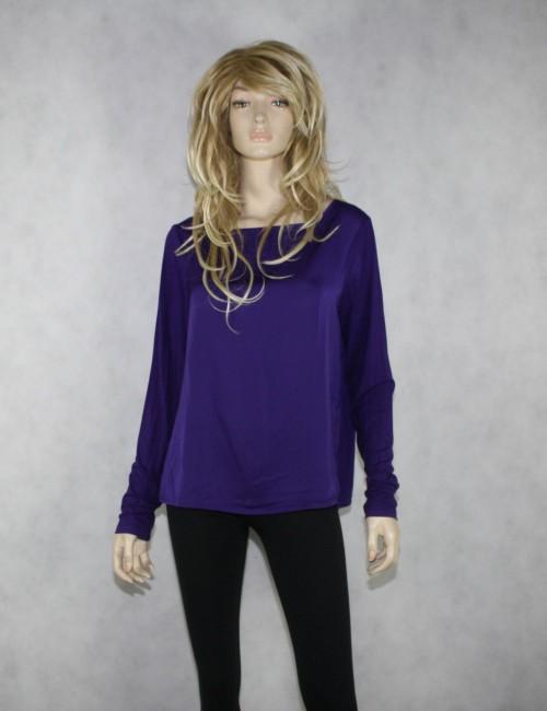 LAUREN RALPH LAUREN womens purple blouse (L)
