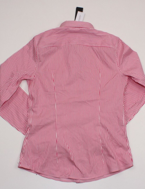 BANANA REPUBLIC Womens Striped Non-Iron Fitted Shirt (8)
