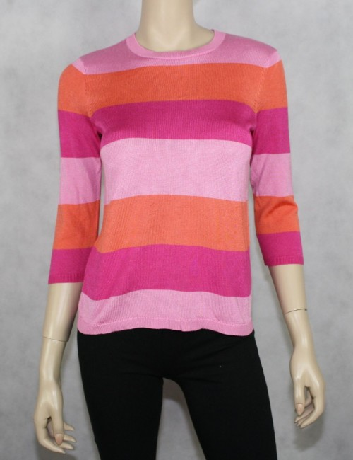 LAUREN RALPH LAUREN petite striped sweater Size PS