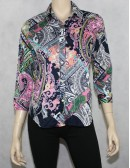 LAUREN RALPH LAUREN petite button down shirt Size PM