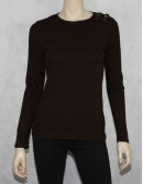 LAUREN RALPH LAUREN buckle top Size M