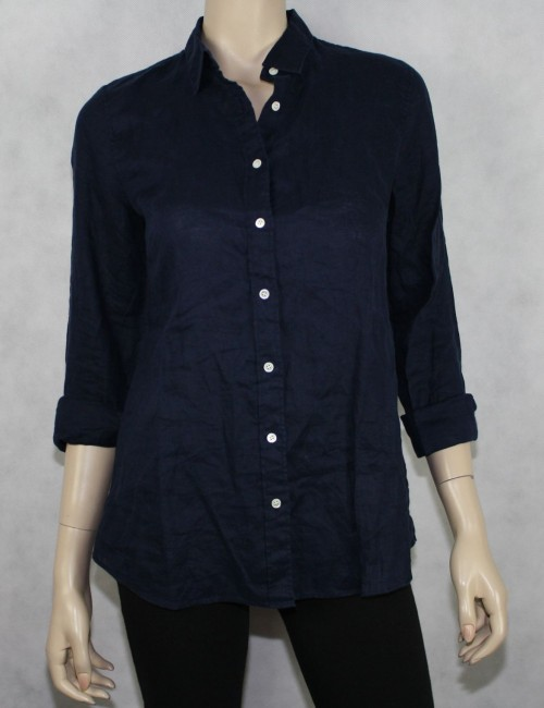 J.CREW perfect linen shirt Size 6