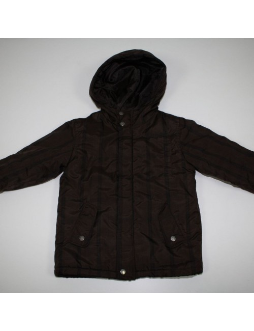 TIMBERLAND boys brown hooded jacket