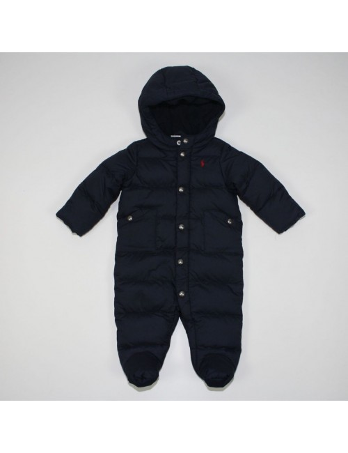 RALPH LAUREN navy blue 1PC snowsuit for a baby boy!