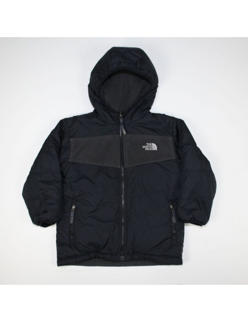 THE NORTH FACE boys reversible TRUE OR FALSE fleece jacket (XXS) AMFN