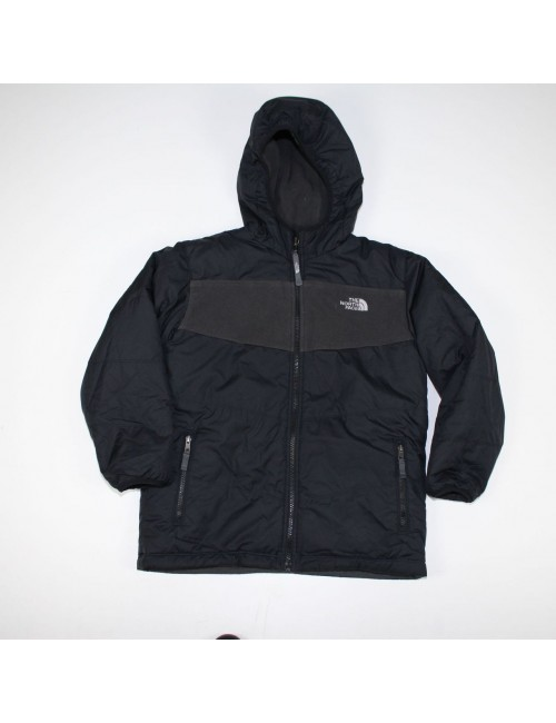 THE NORTH FACE boys reversible TRUE OR FALSE fleece jacket (M) AMFN