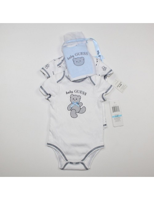 BABY GUESS 2PC Jumpers + Bib