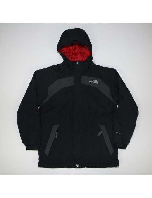THE NORTH FACE boys gray insulated SHADOWSWAY jacket (L) AFVC