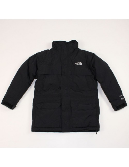 THE NORTH FACE boys McMurdo black jacket 550 insulated (M) AQFZ