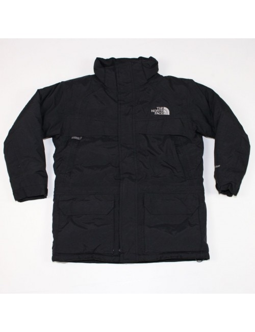 THE NORTH FACE AAZQ boys black MCMURDO PARKA winter jacket!