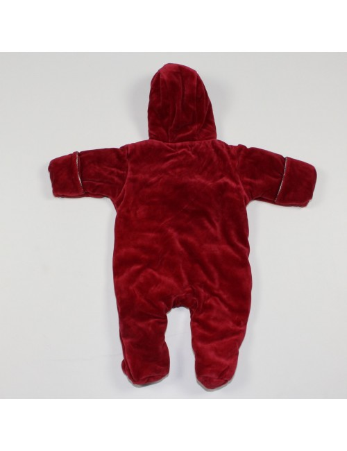 RALPH LAUREN baby 1PC red hooded winter suit!