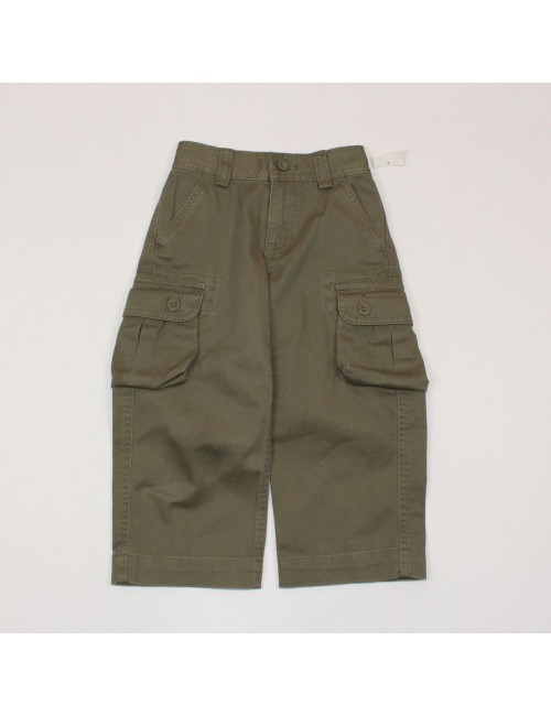 POLO BY RALPH LAUREN Baby Boy Olive Green Cargo Pants! (2/2T) NEW