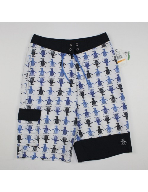 PENGUIN boys swimming shorts NEW Size S