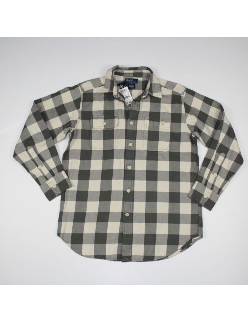 POLO BY RALPH LAUREN boys plaid shirt!