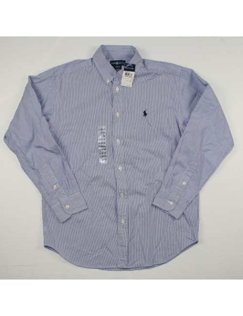 RALPH LAUREN boys button down shirt NEW size L (16/18)