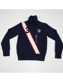 RALPH LAUREN Boys Half Zip Sweatshirt