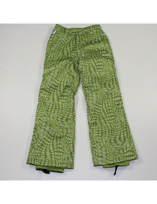 SPYDER girls green ski pants!