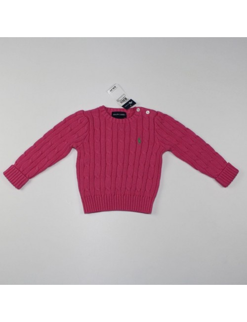 RALPH LAUREN girls sweater Size 12m