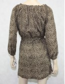 Michael Michael Kors Beige & Brown Dress Size XS new