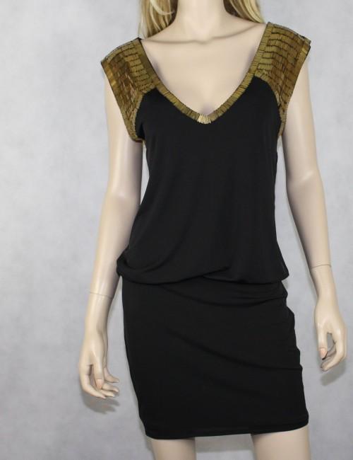 BEBE black dress (M)