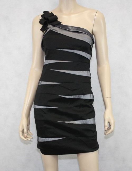 Cache One Shoulder Dress Size 8