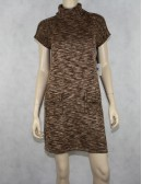 CALVIN KLEIN turtleneck sweater dress Size M