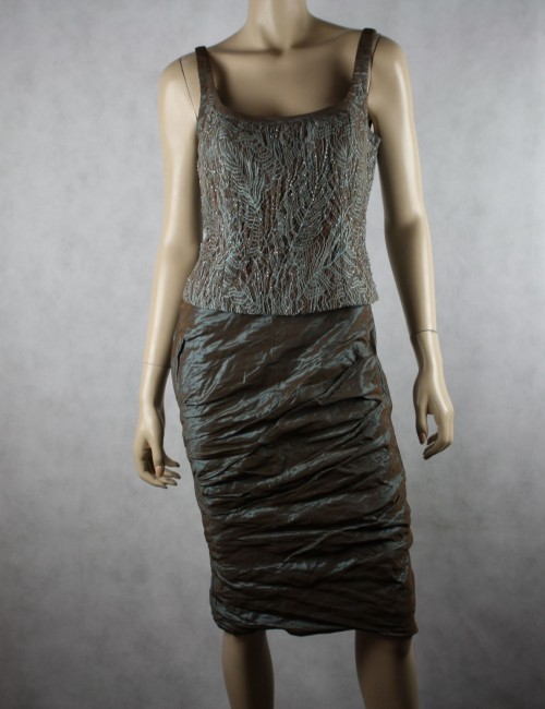 Carmen Marc Valvo Collection 2pc Dress Size 6