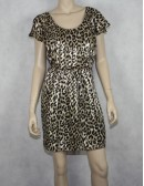 GUESS animal printed dress Size 8